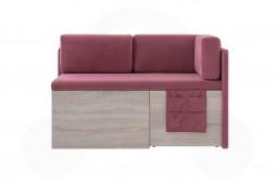 Кухонный диван Бартон с раскладным сиденьем 7к