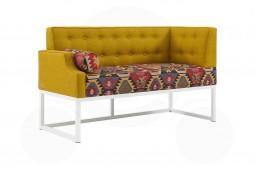 Кухонный диван Оксфорд лайт с углом 7к