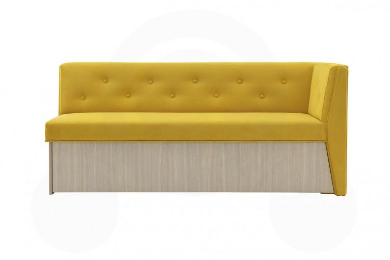 Кухонный диван Верона с углом 7к