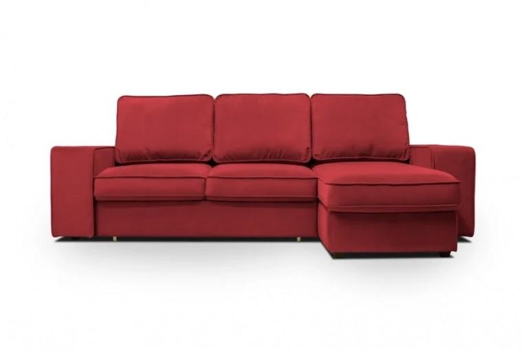 Угловой диван Монако с оттоманкой ФТ