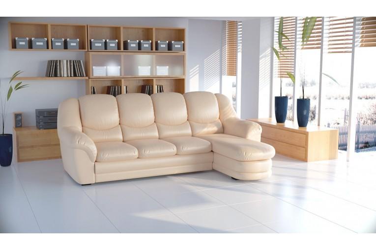 Угловой диван Нимфа-3 c оттоманкой