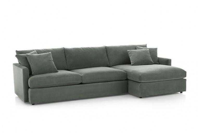 Угловой диван Стелф с оттоманкой ФТ