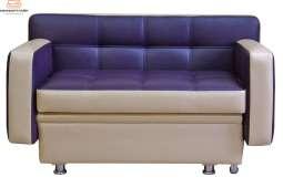Кухонный диван Фокус с 2 подлокотниками