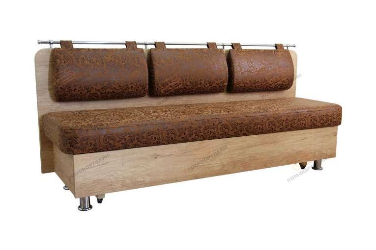 Прямой диван для кухни Сюрприз ДС24