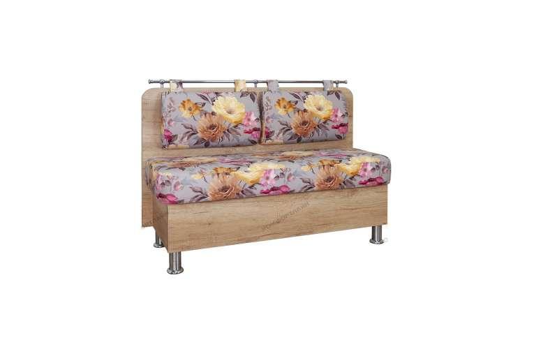 Прямой диван для кухни Сюрприз ДС57
