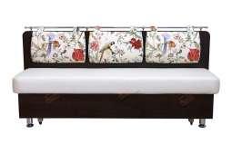 Кухонный диван со спальным местом Сюрприз двухцветный