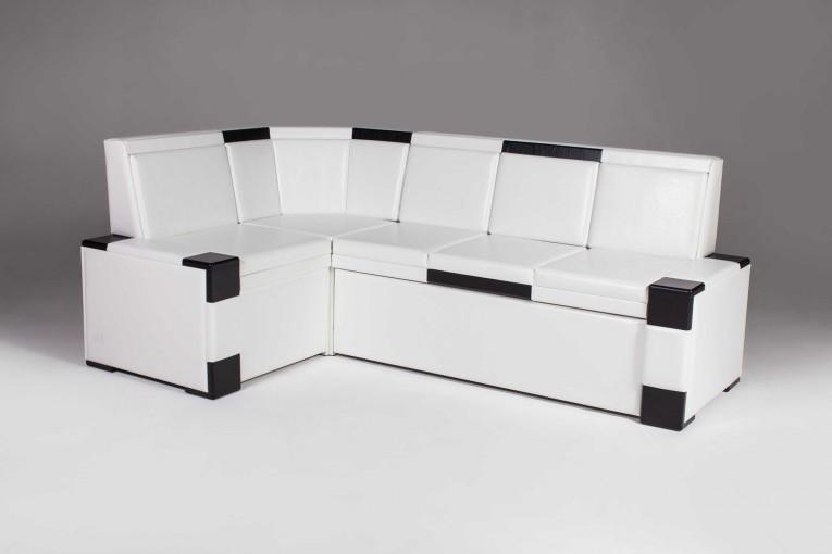 Кухонный угловой диван со спальным местом Квадро