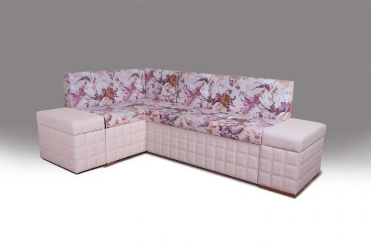 Кухонный угловой диван со спальным местом Престон