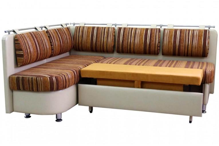 Кухонный угловой диван со спальным местом Метро