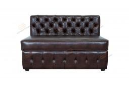 Прямой диван для кухни Честер с раскладушкой ДЧСМТ03