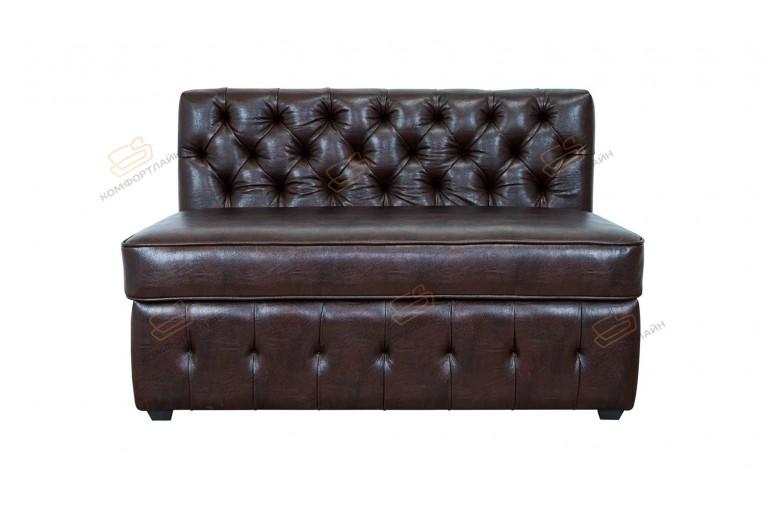 Прямой диван для кухни Честер Софт с раскладушкой ДЧСМТ03