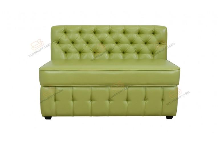 Прямой диван для кухни Честер софт с ящиком ДЧС05