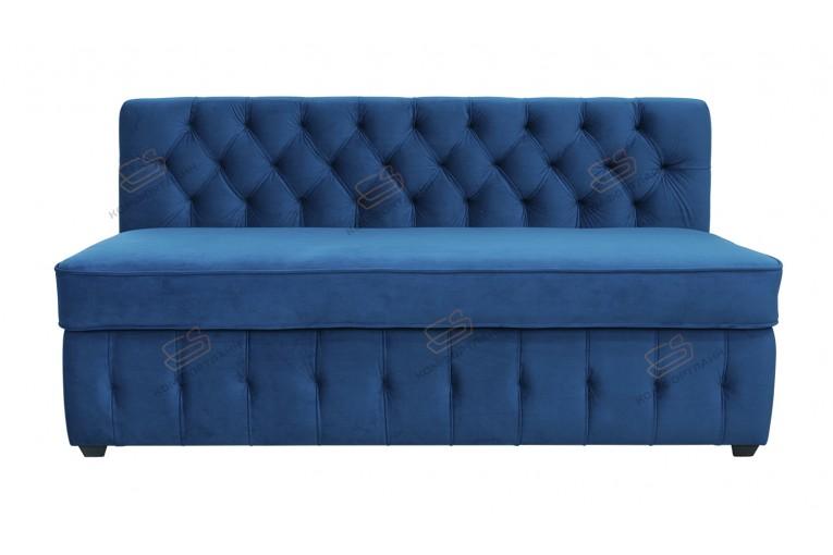 Прямой диван для кухни Честер Софт с раскладушкой ДЧСМТ08
