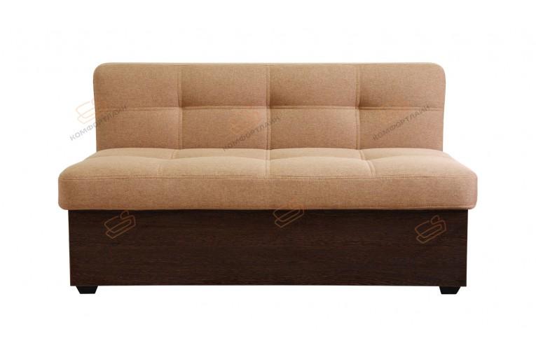 Прямой диван для кухни Палермо с ящиком ДПЛ04