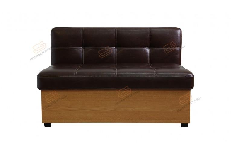 Прямой диван для кухни Палермо с раскладушкой ДПМТ01