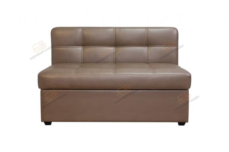Прямой диван для кухни Палермо Софт с раскладушкой ДПСМТ09