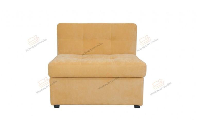 Прямой диван для кухни Палермо Софт с раскладушкой ДПСМТ13