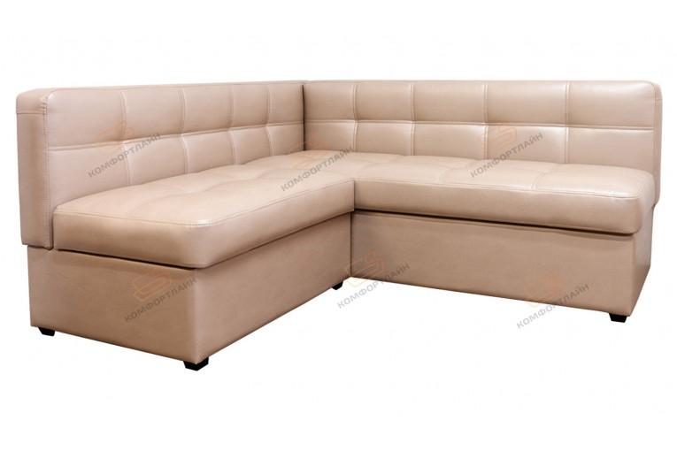 Угловой диван для кухни Палермо Софт с ящиком