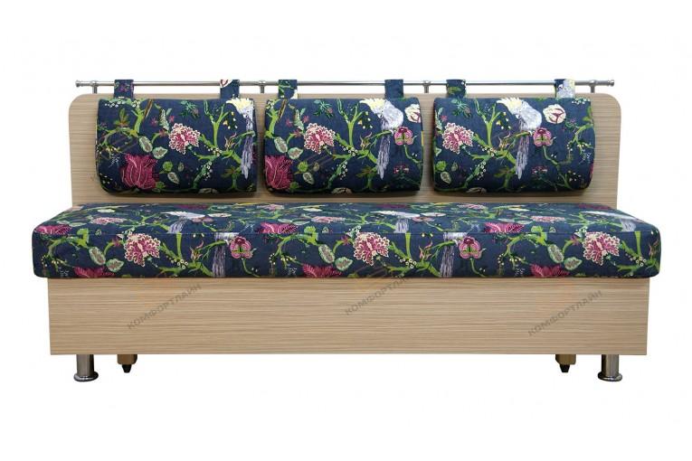 Прямой диван для кухни Сюрприз ДС27