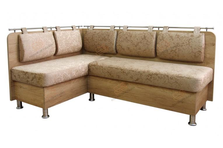 Угловой диван для кухни Сюрприз ДС34