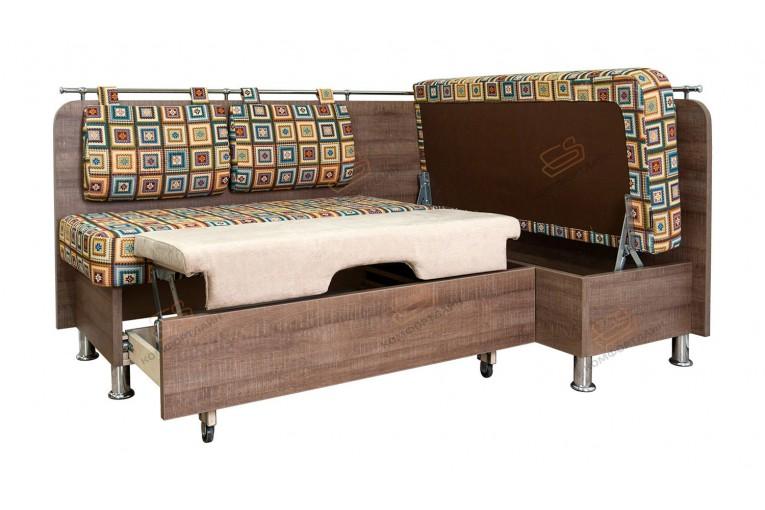 Угловой диван для кухни Сюрприз СВ ДС47