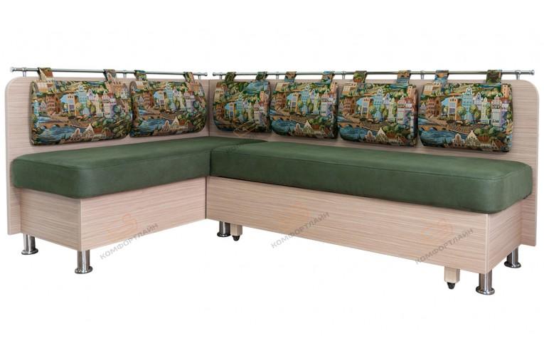 Угловой диван для кухни Сюрприз ДС48